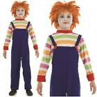 BOYS Evil Dummy Chucky Horror Child's Play Halloween Fancy Dress Small - XL