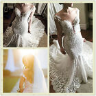 Mermaid Wedding Dresses 2017 Lace Appliques Sweetheart Custom Made Bridal Gowns