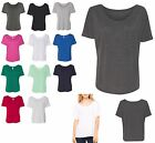 LADIES SHORT SLEEVE, RELAXED FIT, SCOOP NECK, LIGHTWEIGHT TOP, S M L XL 2XL 3XL
