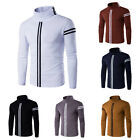 New Fashion Men Slim Fit Cotton Turtle Neck Long Sleeve Casual T-Shirt Tops Hot