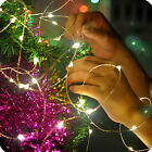 New 20M-200 LED Solar/Battery Copper Wire  Fairy String Light Xmas Party Lamp