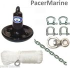 Mushroom Anchor 6.8kg PVC-coated finish Mooring Anchor Options