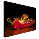 Red Hot Chili Pepper, Very Hot Canvas Wall Art prints high quality