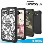 Slim Fit Armor Hybrid TPU Dual Layer Shockproof Case For Samsung Galaxy J7 2015