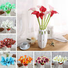 12pcs Real Touch Artificial Flower Calla Lily Artificial Flowers For Home Decor