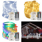 33ft String Rope Light 120 Led Strip Lamps Tube Lights Waterproof  Outdoor Xmas
