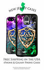 Zelda Golden Hyrule Shield Apple iPhone, Samsung Galaxy, LG, Google Phone Case
