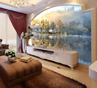 After Rain Country Lake Side Full Wall Mural Photo Wallpaper Print Home 3D Decal