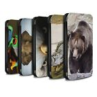 STUFF4 PU Leather Case/Cover/Wallet for Samsung Galaxy S5/SV/Wildlife Animals