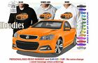 2014-16 VF STORM UTE HOLDEN HOODIE ILLUSTRATED CLASSIC RETRO MUSCLE SPORTS CAR