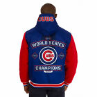 2016 Chicago Cubs World Series Champs Reversible Hooded Jacket Embroidered NICE!