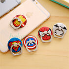 Cartoon Hero Finger Ring Buckle Holder Stand Mount Bracket for Smart Cell Phone