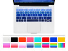 """EU Silicone Spanish Keyboard Cover Skin For New Macbook Pro 13"""" A1708 12"""" A1534"""