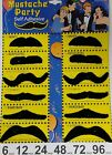 Stick on fancy dress moustaches Tash Tashes Fake moustache Mexican lot beard