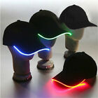 Unisex LED Flashing Baseball Sport Hat Light up Glow cap Rave Halloween Fashion