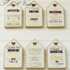 Wooden Plaque Humerous Toilet Rules Love House Prosecco Sign Great for Gift