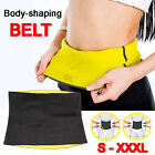 Hot Fit Body Shaper Slimming Belt Waist Trainer Tummy Trimmer Sweat Fat Burn AU