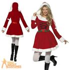 Miss Sexy Santa Costume Adult Christmas Ladies Fancy Dress Outfit New UK 8-18