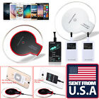TX W Clear Qi Wireless Charger Charging Pad for Samsung Galaxy Note 7 S7 S6 Edge
