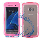 for Samsung Galaxy S7 Edge Shockproof Waterproof Dirt Proof Case Full Cover