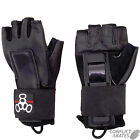 "TRIPLE EIGHT ""Hired Hands"" Wristguards Gloves Roller Derby Skateboard S M"