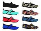 Nufoot Futsole Women's Yoga Travel Gym Lightweight Relief Slippers Sizes 5.5-11