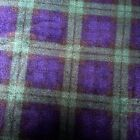 THROW NEW GREEN & BLUE TARTAN Fleece Soft Warm Sofa Bedblanket washable 3 sizes