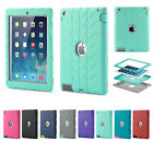 Shock Proof Builders Heavy Duty Tough Protect Case Covers for iPad Air 1st 9.7