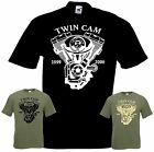 Bikershirt TWIN CAM T-Shirt Chopper Bobber Shovelhead Evolution Evo