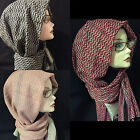 Maxi Classsic Plaid long Cotton Hijab, Scarf, Womens Shawl