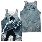 BRUCE LEE WHOOOAA Sublimation Men's Graphic Tank Top Sleeveless Tee SM-3XL