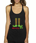 New Way 586 - Women's Tank-Top Mommy Elf Christmas Stockings Holidays