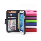 Galaxy S5 S6 S7 edge Case, New Wallet Flip Leather Cover For Samsung AU