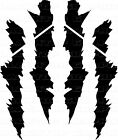 Scar Hash Stripes Scratch Decal Chevy Camaro Dodge DART Ford Mustang corvette