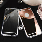 Luxury Ultra-thin Slim Mirror Soft TPU Back Case Cover For iPhone 7 7 Plus 5 6s