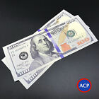 2x $100 Bills - Best Novelty Movie Prop Play Fake Money Joke Prank!