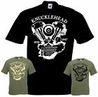 Bikershirt KNUCKLEHEAD T-Shirt Chopper Bobber Shovelhead Evolution Evo Twin Cam
