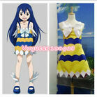 New Anime Hot Fairy Tail Wendy Marvell Cosplay Halloween Dress Free Shipping