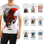 AU Fashion T-shirt Art Collection Printed Top Supermodel Basic Trend Tee size M
