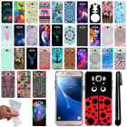 For Samsung Galaxy J5 J510 2nd Gen 2016 Cute Design TPU SILICONE Case Cover +Pen