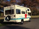 INCREDIBLY RARE UNDER 20 FEET FULLY SELF CONTAINED C CLASS FORD MOTORHOME NICE!!