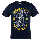"T-SHIRT MMA ""WORK OUT EVRYDAY"" IDEAL FOR MMA TREINING GYM BODYBULDING MOTIVATION"