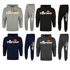 New Ellesse Logo Cotton Jogging Suit Tracksuit S M L XL Hooded Top Bottoms