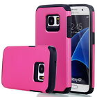 Case Cover For Samsung Galaxy S6 S7 S7 Edge ShockProof Hybrid Rubber Denfender