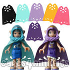 3 CUSTOM Capes for your Lego friends elves minifig.   26486 style - CAPE ONLY
