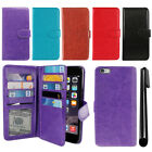 "For Apple Iphone 6 Plus/ 6S Plus 5.5"" Magnetic Holder Wallet Cover Case + Pen"