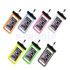 1x Cell Phone Touchscreen Waterproof Underwater Pouch Dry Bag Case Cover WS
