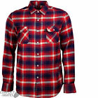 "INDEPENDENT ""Faction"" Skateboard Check Shirt RED S M L XL Plaid Long Sleeve INDY"