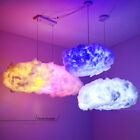 Child Room Gifts Led Floating Cloud Pendant Lamp Cotton Silk Chandelier Decor