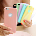 COVER per Iphone 6 6s 7 8 CUSTODIA in TPU SILICONE OPACA ULTRA SLIM